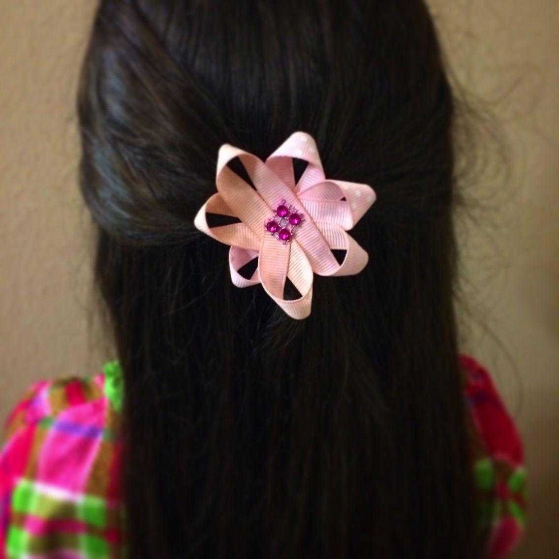 DIY hair clip