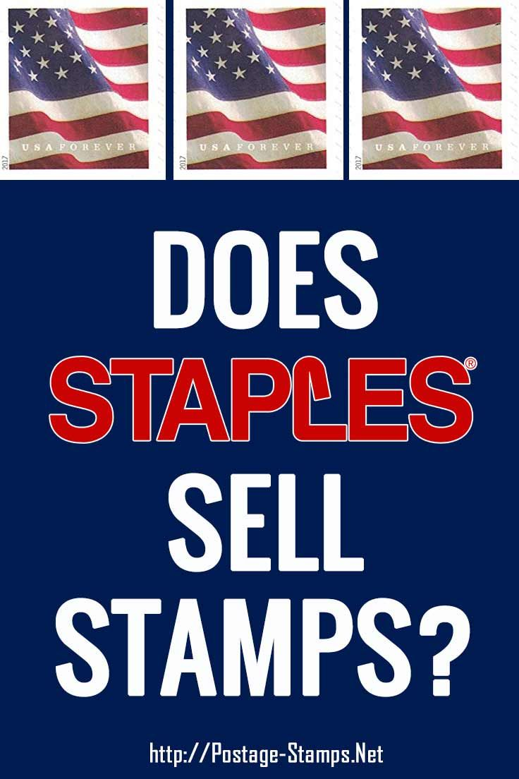 Does Staples Sell Stamps Find Out If Your Local Staples