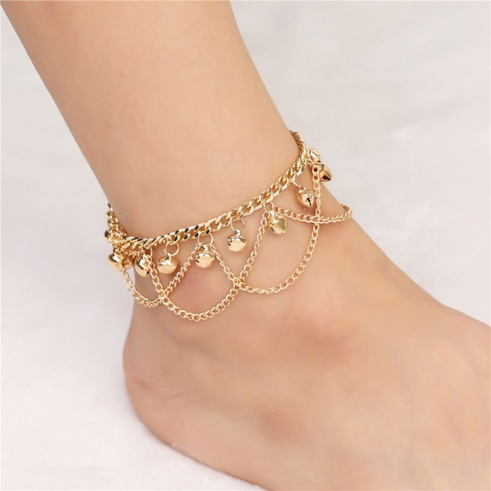 bridesmaid olizz heart erotes ankle gold anklet bridal love bracelets bracelet jewelry infinity