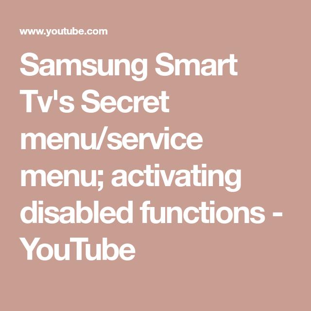db180d1d474b77f161ccf96d97f0f672 - How To Get Into Service Menu On Samsung Tv