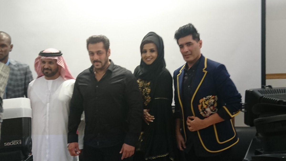 Salman Khan Launched Belhasa Driving Centre In Dubai