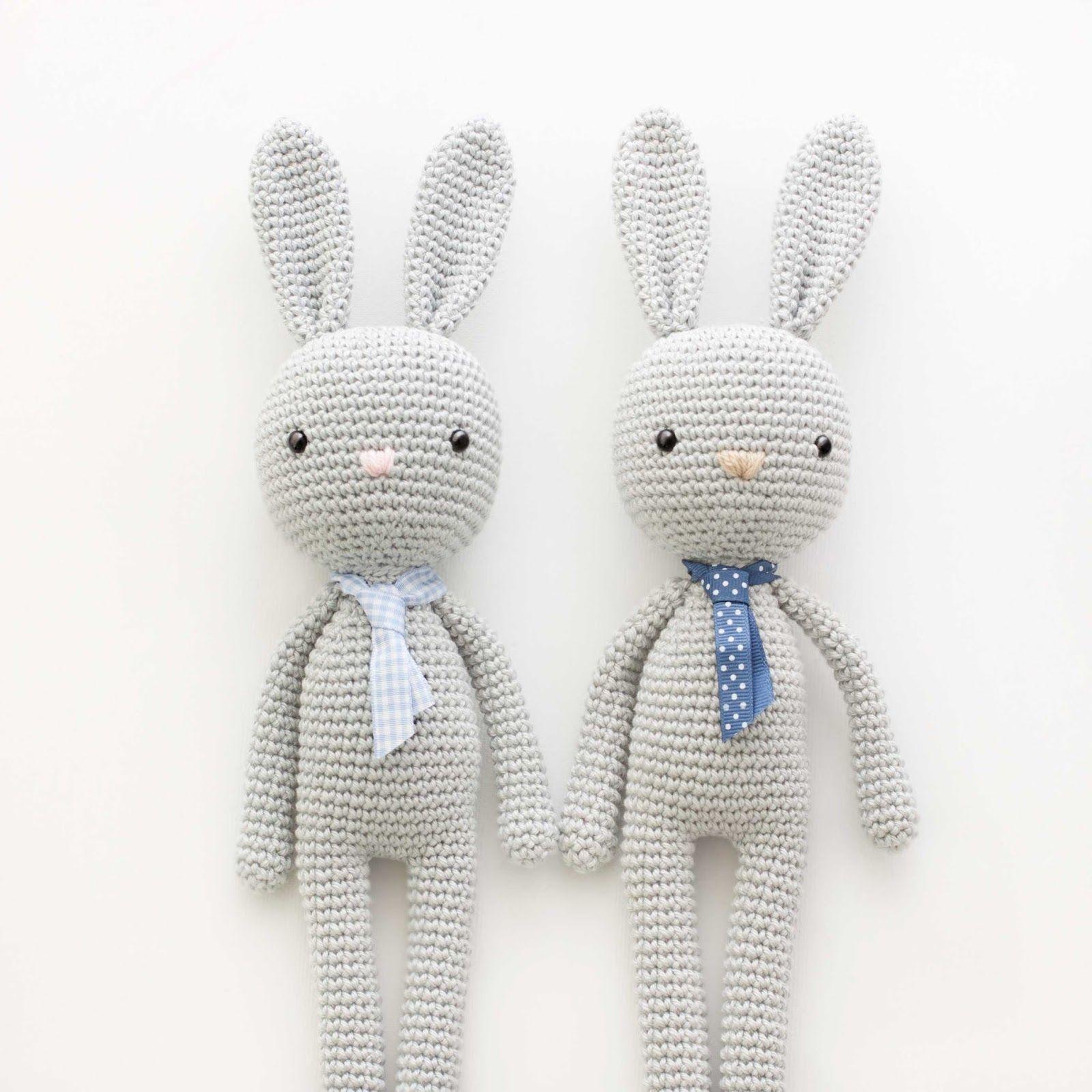 Conejos amigurumi | Amigurumis PequiCosas | Pinterest | Conejos ...