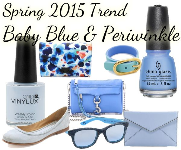spring 2015 nail color trend loving periwinkle for clothes and