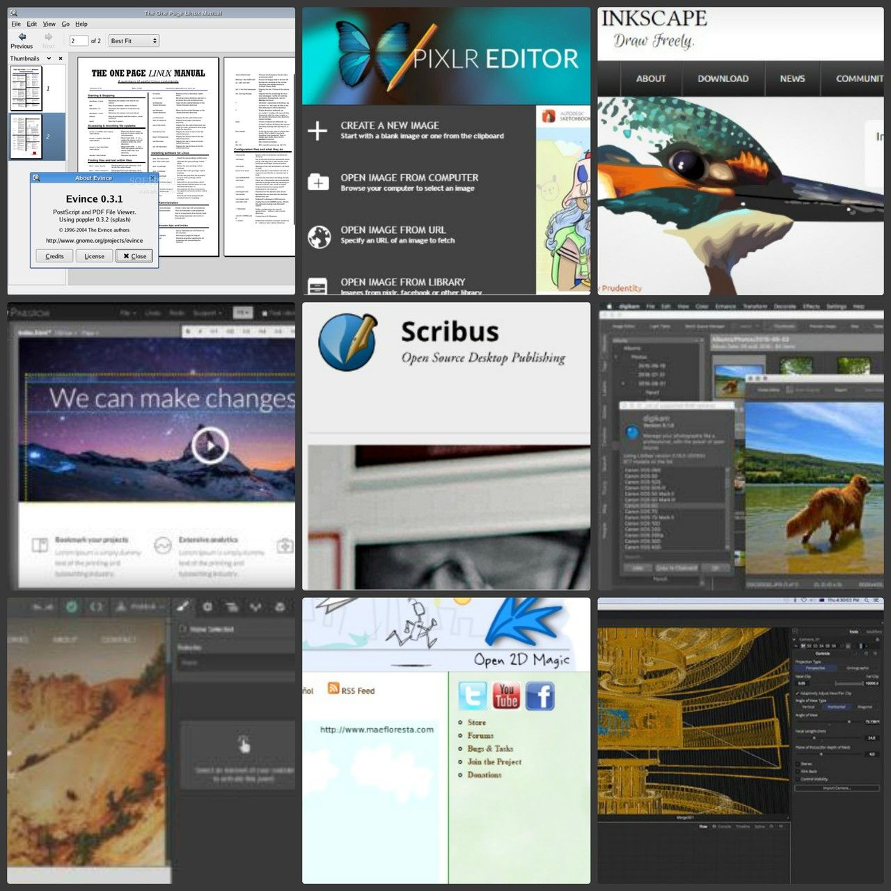 Best Adobe Alternatives For Linux Linux, Desktop