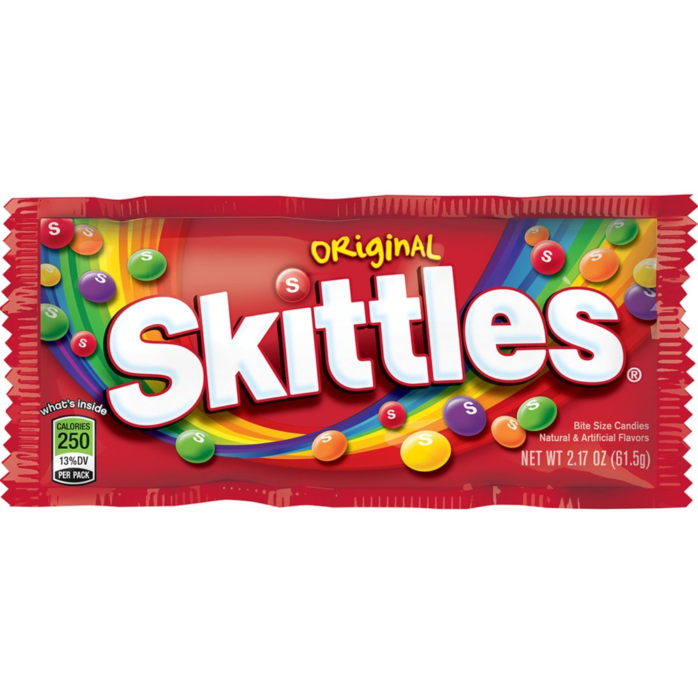 Skittles Original Candy 2 17oz Chewy Candy Skittles Chewy