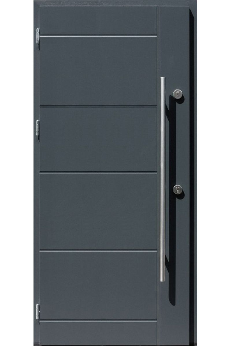 new yorker stainless steel entry door - Exterior Steel Doors