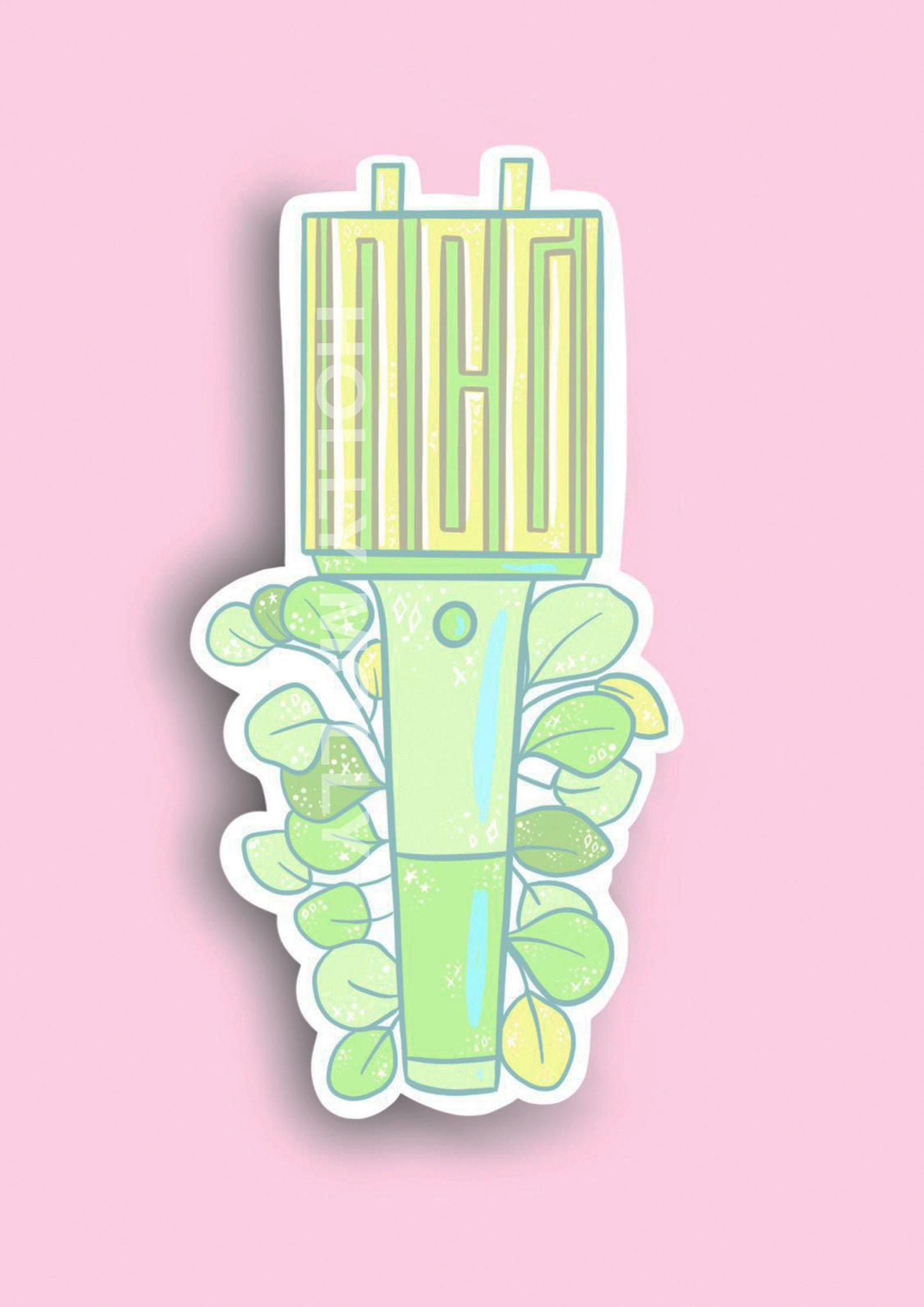 KPOP Lightstick Stickers