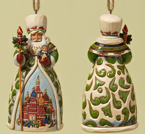 russian christmas decorations heartwood creek ornament collection russian santa ornament 4022942