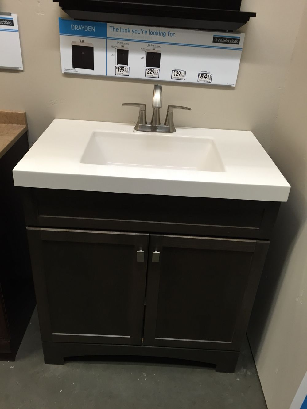 Drayden Vanity  Lowes  Bathrooms  Pinterest  Vanities Guest New Bathroom Vanities At Lowes Decorating Design