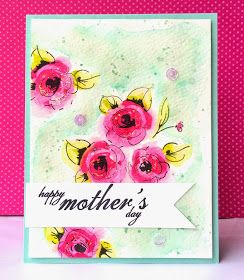 The Queen's Scene: Happy Mother's Day Roses - {PP241/CTS#119}