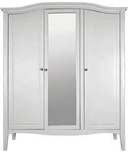 My new wardrobe 3 Schreiber Provence 3 door mirrored wardrobe