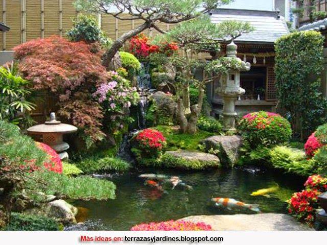 C mo decorar un jard n de estilo zen portales japanese - Como decorar un estanque ...