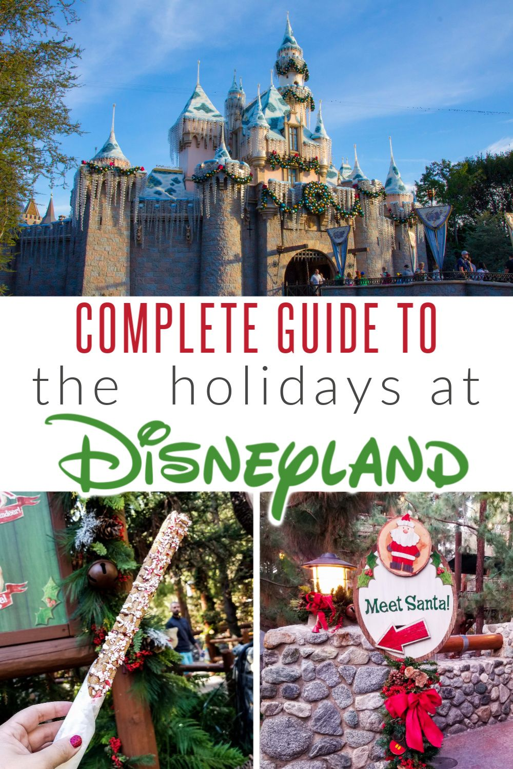 Holidays at Disneyland 2019: Your Complete Guide #disneylandfood