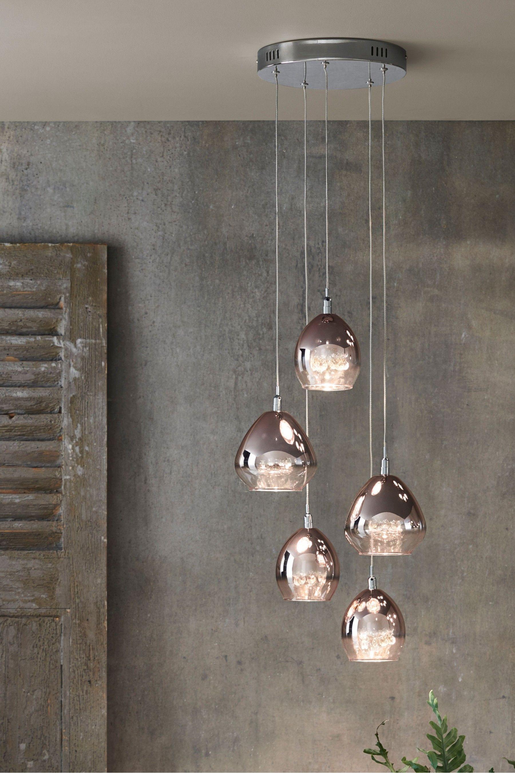Bella 5 Light Cluster Light Fittings Living Room Bulb Pendant