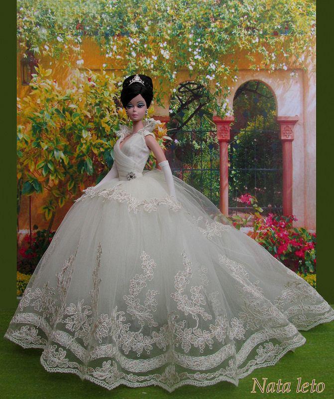 bride doll, fashion doll, The Soiree  silkstone