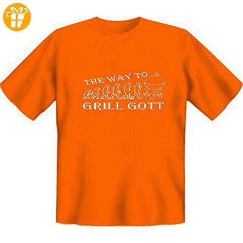 DAS Shirt für BBQ-Fans und Grillprofis: The way to Grill Gott T-