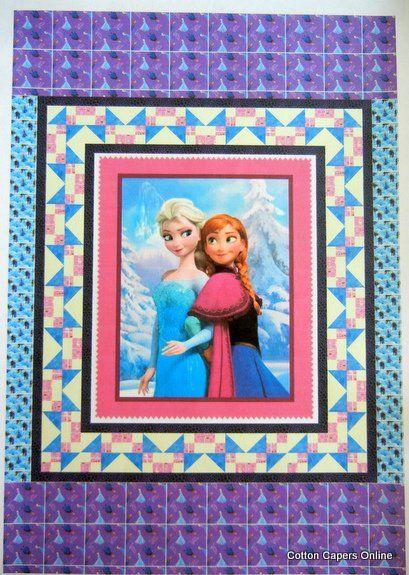 Frozen Quilt kit   Disney Frozen fabric   Pinterest   Frozen quilt ... : disney quilting fabric - Adamdwight.com