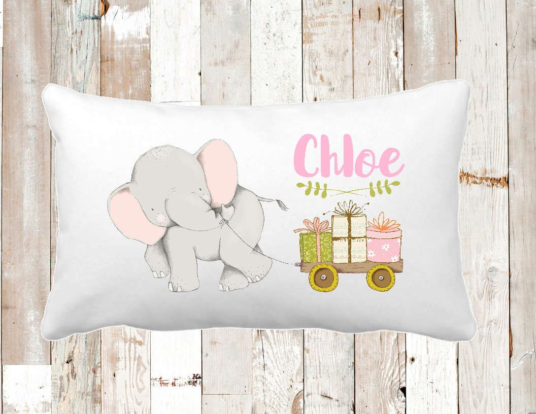 Travel pillow girls decor girls pillow baby pillow personalized