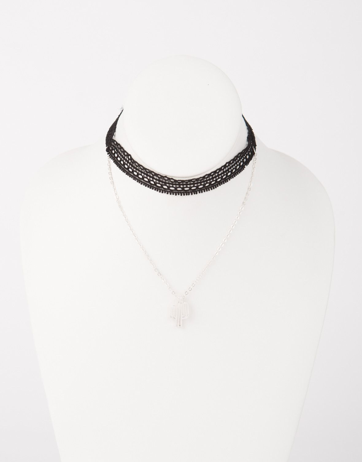 Cactus Choker Necklace