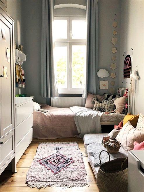 Kinderzimmer für eine 2 Jährige Bunt, kinngerecht und