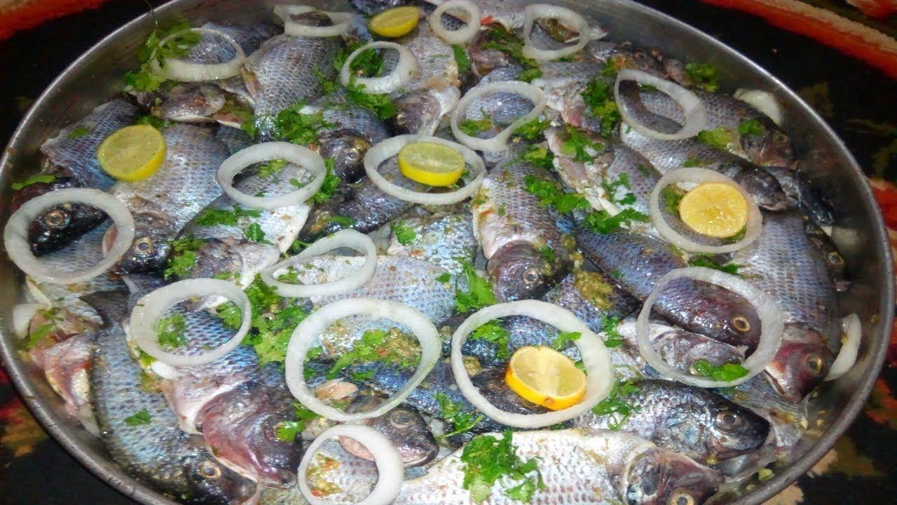صينية السمك البلطي بالفرن او طاجن سمك بلطي بالفرن بوصفة سهلة Food