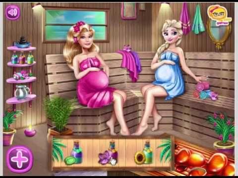 Disney Princess Games Pregnant Princesses Olivia And Elsa