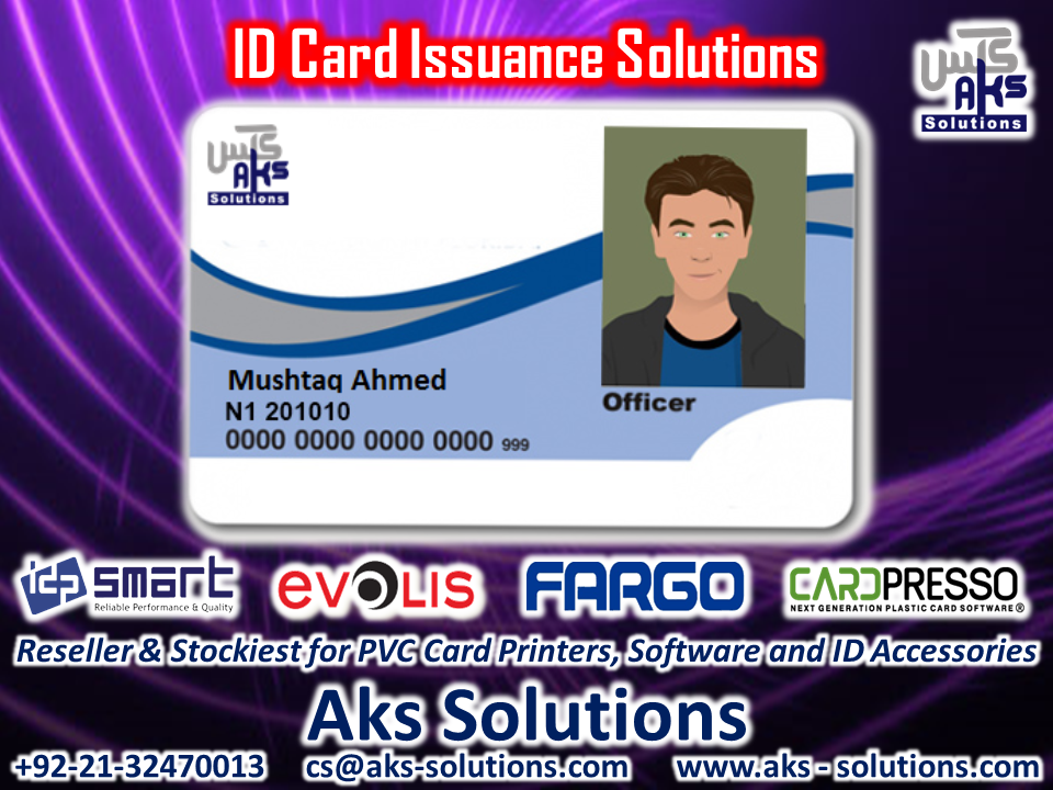 Pvc Id Card Issuance Solutions Card Printer Magnetic Stripe Card Employees Card