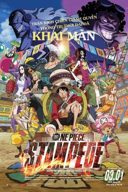 One Piece Stampede Film complet Putlockers in HD720p