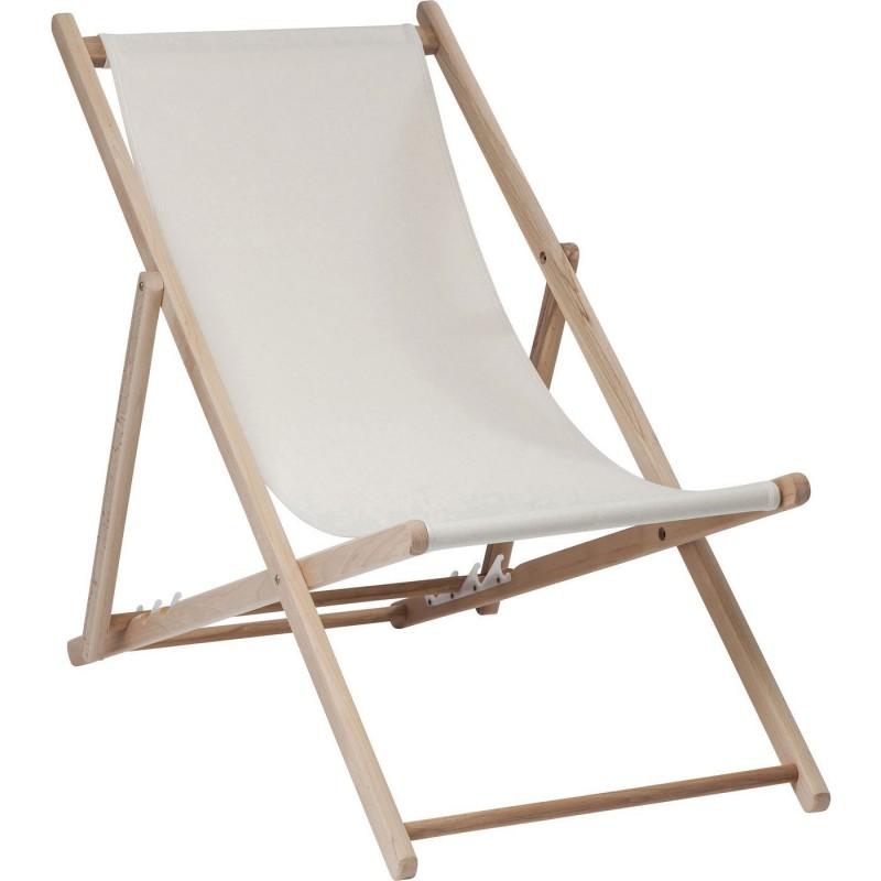 Transats Detente Blanc Bright Summer Kare Design En 2020 Chaise De Plage Pliante Chaise Pliante Chaise De Plage