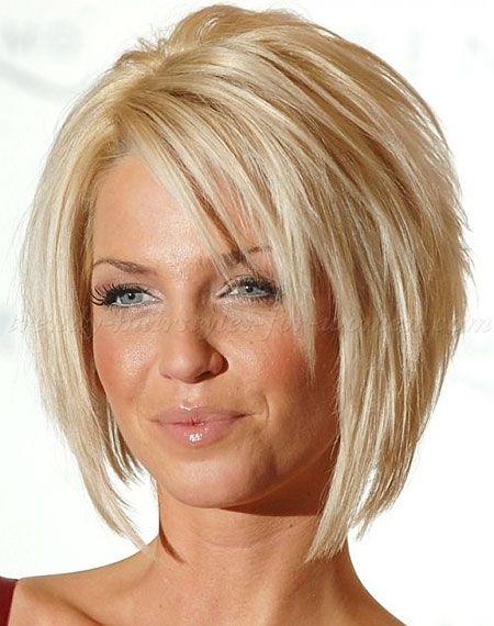 25 Best Short Straight Layered Bob Hairstyles | Fine hair, Bob ...