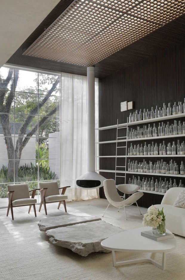 Très Belle Habitation Moderniste à São Paulo Par Nildo