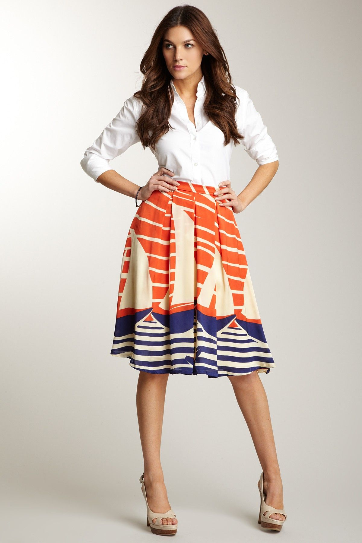 37681ec8dbb6 Eva Franco Glen Skirt