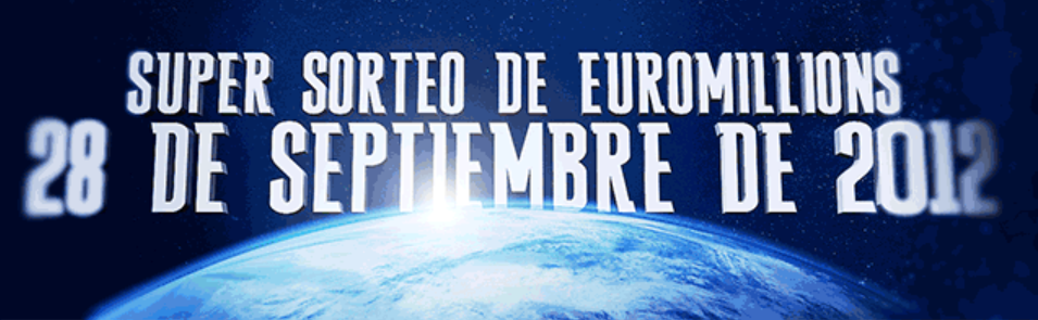 On the 28th September 2012, EuroMillions will be having a SUPERDRAW ending September with a huge bang! Be sure to get your lucky numbers in for this spectacular event.  Also, don't forget you can play future entries in advance. When selecting your entry, select the relevant 'number of draws' and then select the draw on Friday 28th September (SuperDraw Friday)     Play for jackpots following:      POWERBALL $ 174 million      EuroMillions € 26 million      OZPOWERBALL $ 31,300,000