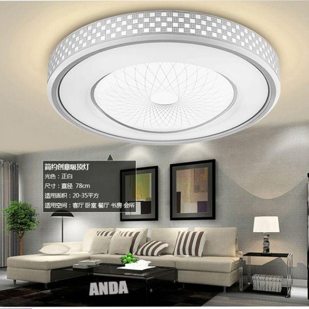 Moderne Led Woonkamer Lamp Slaapkamer Lampen Warm