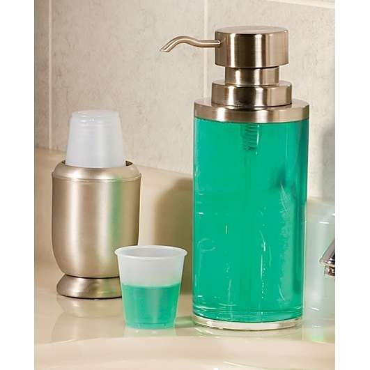 no more unsightly bottles of mouthwash on counter  gonna