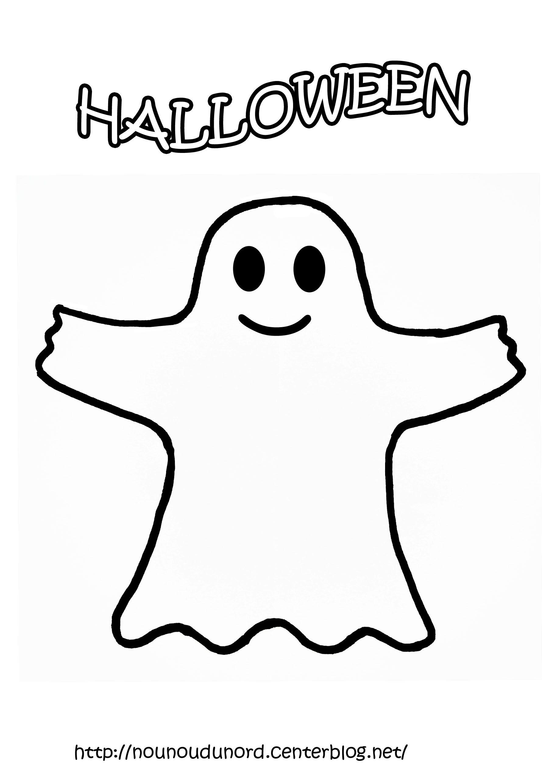 Dessin fantôme 14943 Coloriage halloween a imprimer