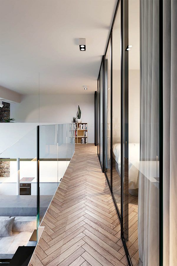 Three homes using exposed brick wood panelling and grey to their advantage netfloor usa