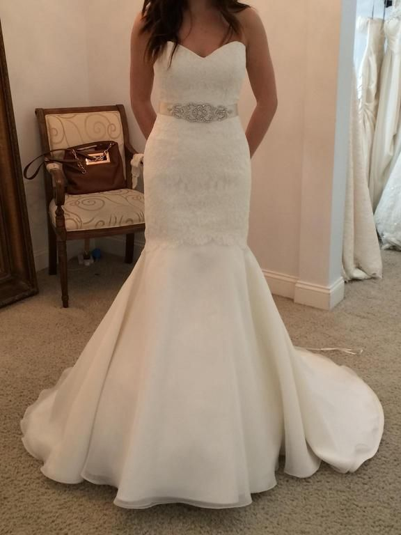 Mikaella 1807: buy this dress for a fraction of the salon price on PreOwnedWeddingDresses.com