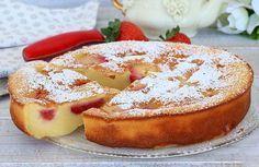 Clafoutis Léger aux Fraises WW #dessertlegerfacile