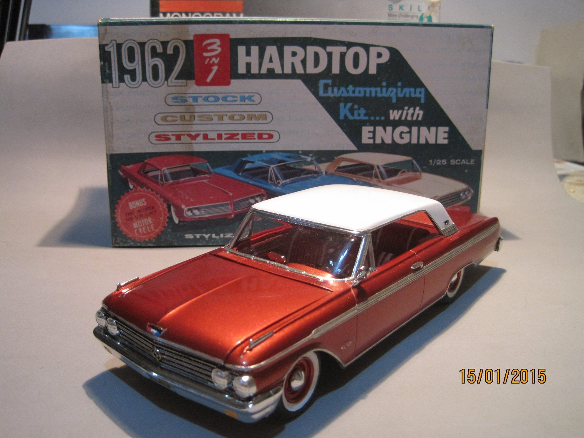 62 Ford Galaxie | Diecast Models | Plastic model cars