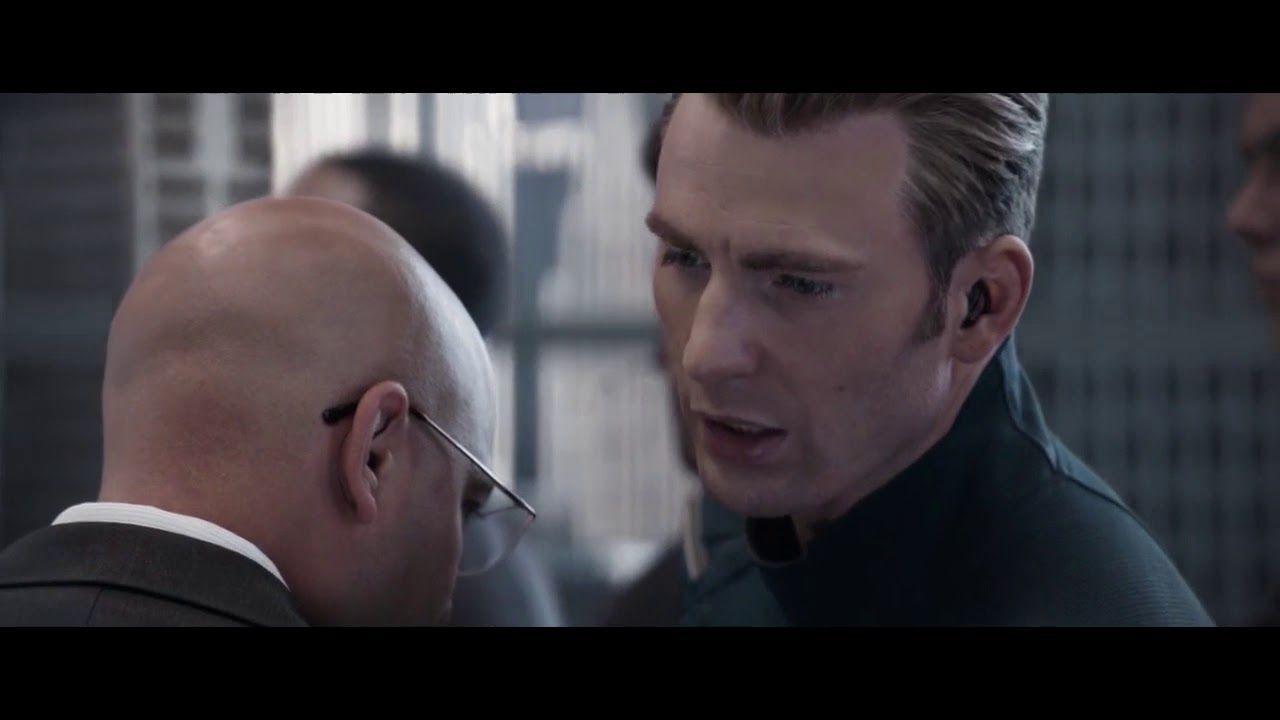 Avengers endgame captain america says hail hydra steve