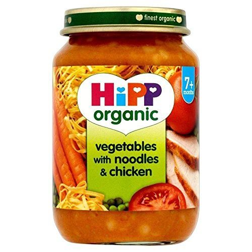 Hipp Organic Vegetables With Noodles Chicken 7mth 190g Baby