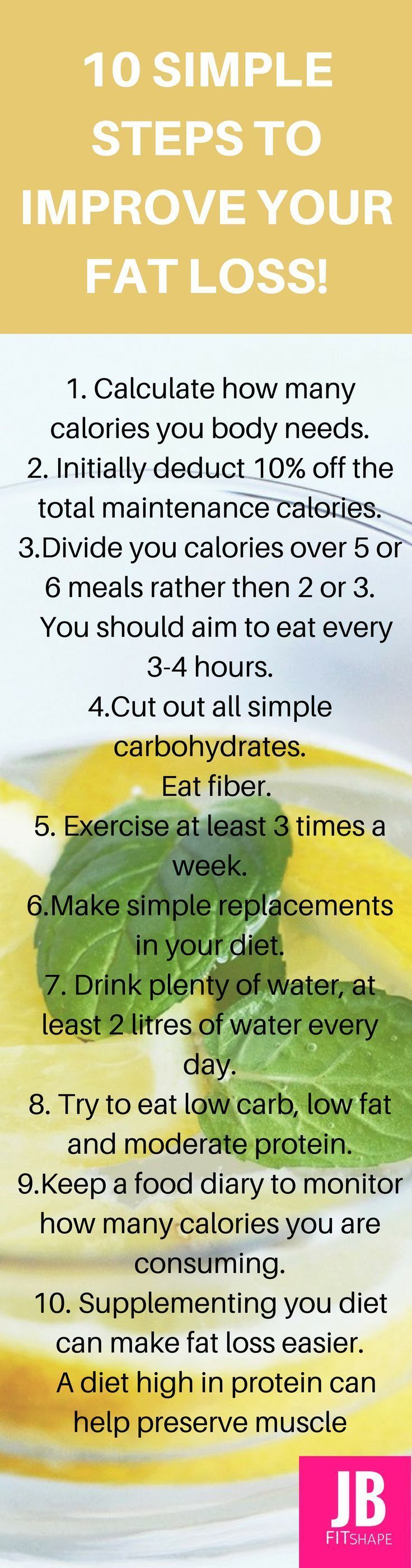 Easy ways to lose weight and get fit