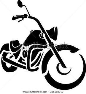 billedresultat for harley motorcycle silhouette sandblasting rh pinterest com