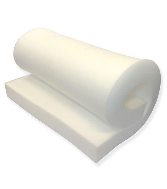 """1536 High Density-Foam Slabs 8/""""x30/""""x80/"""" MEDIUM FIRM FOAM SEAT CUSHION"""