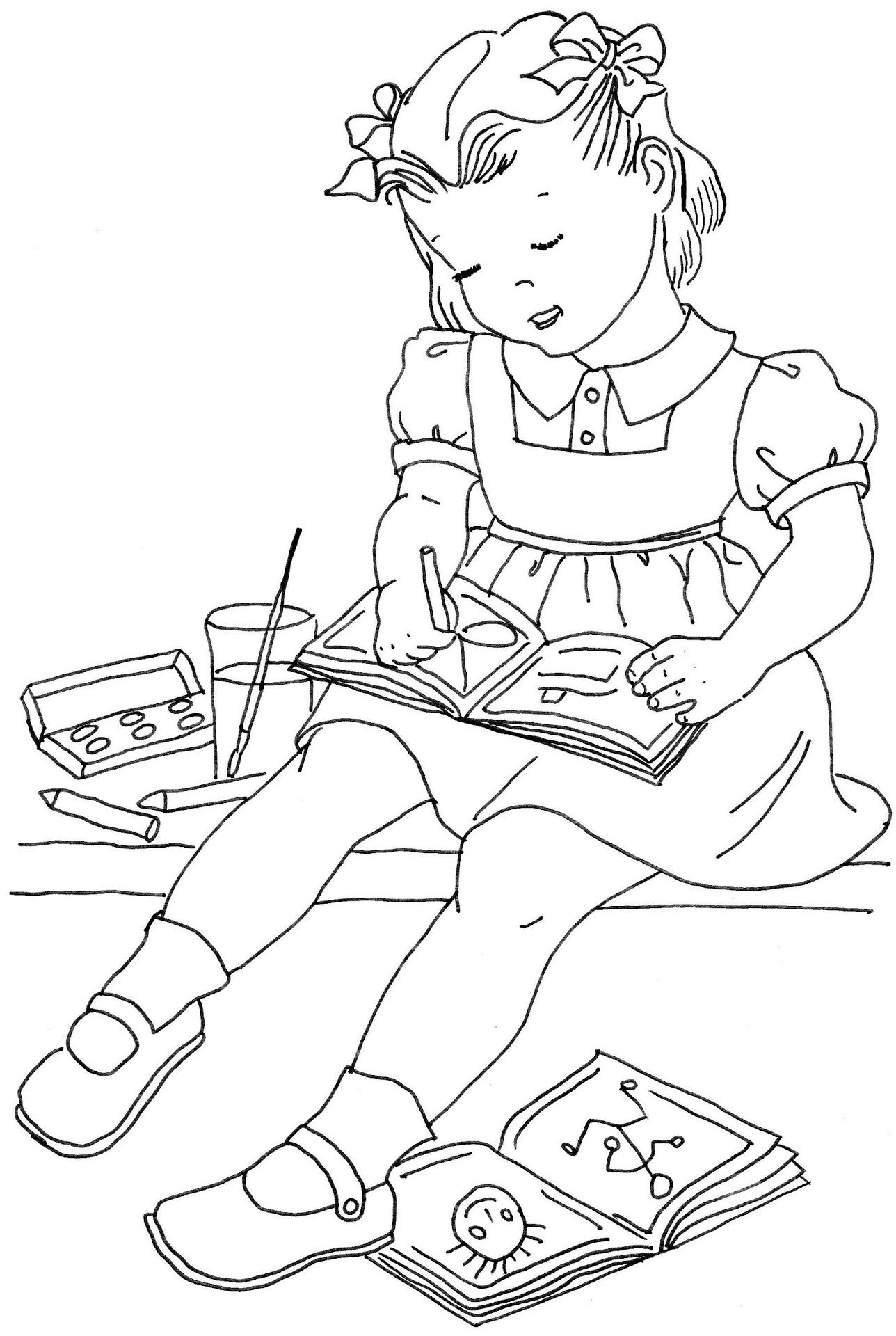 Google Vintage Coloring Books Coloring Pages Coloring Books