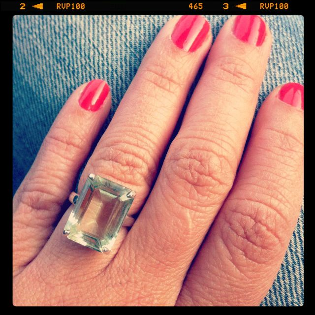 6805b0337 Tiffany Sparklers Praseolite cocktail ring! | My favorite pieces of ...