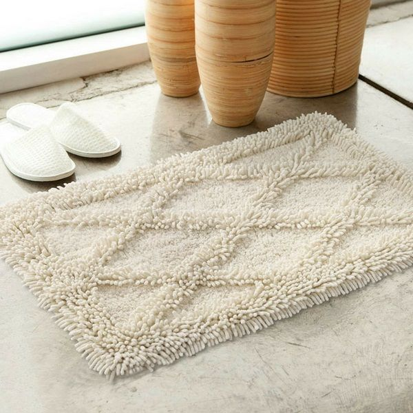 Cotton Bathmat Bright Color Schemes Httproomdecoratingideas - Bright bath mat for bathroom decorating ideas