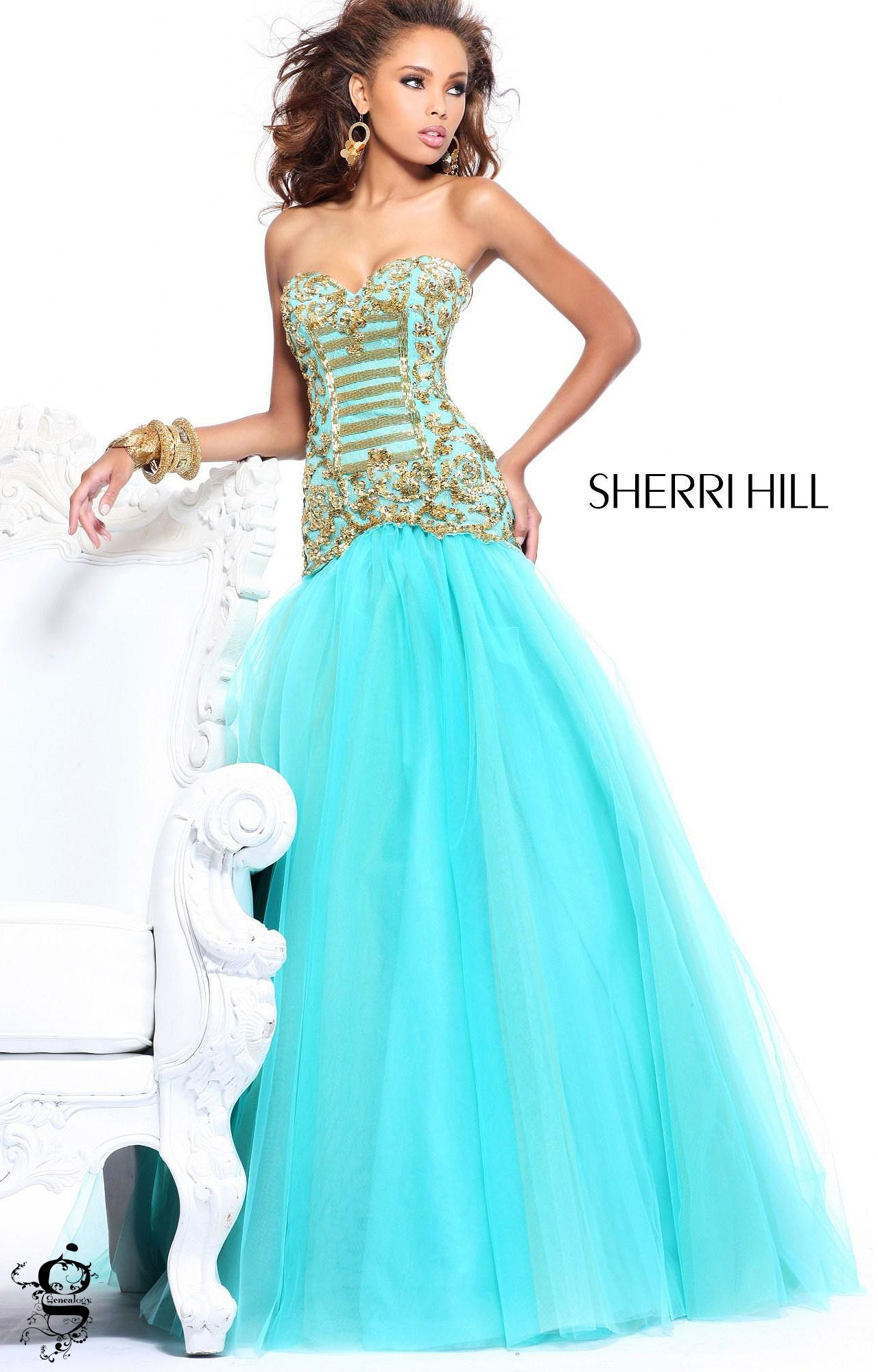 Sherri Hill 2983 | Pageants, Prom and Turquoise