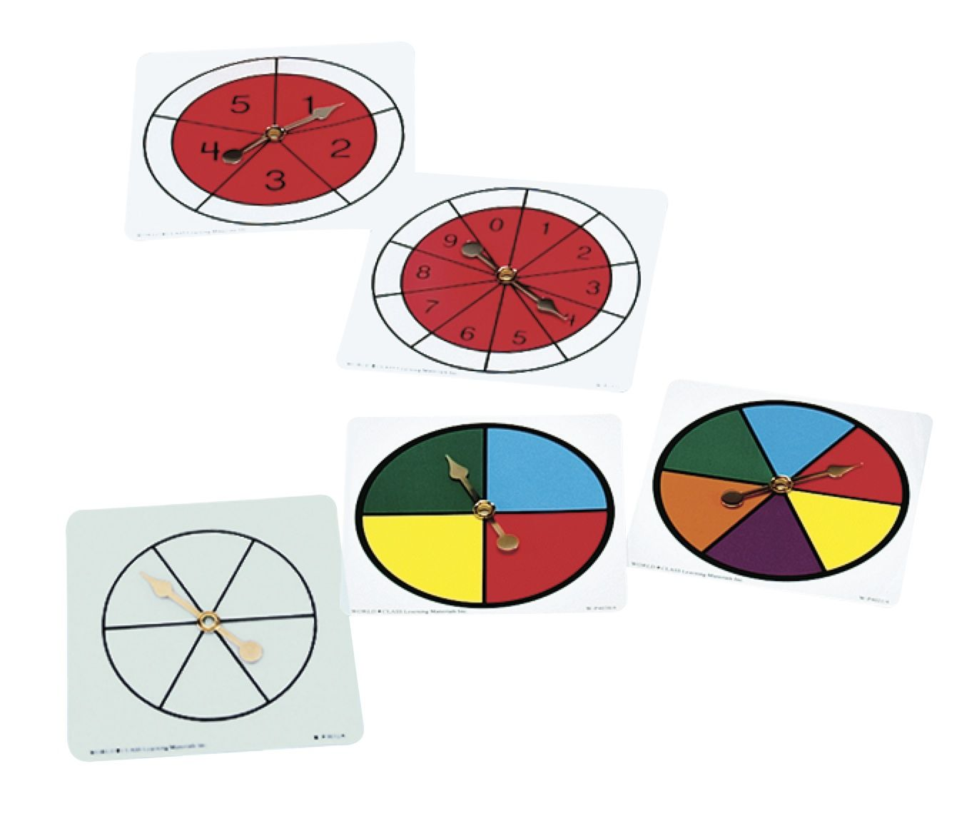 Probability Spinner Variety Pack Great For Probability